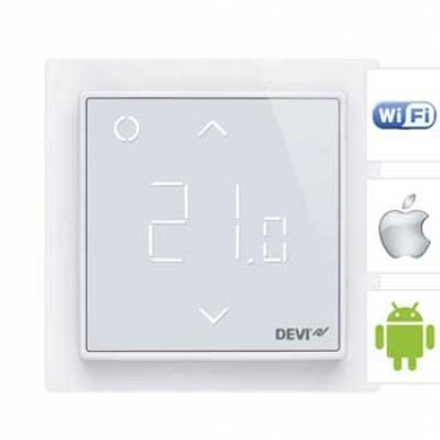 DEVIreg  Smart  Терморегулятор  сенсорный  с Wi-Fi управлением