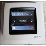 DEVIreg Touch Терморегулятор сенсорный